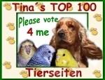 Tinas TOP 100 Tierseiten